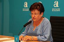 Luisa Pastor - Presidenta Diputación Provincial de Alicante