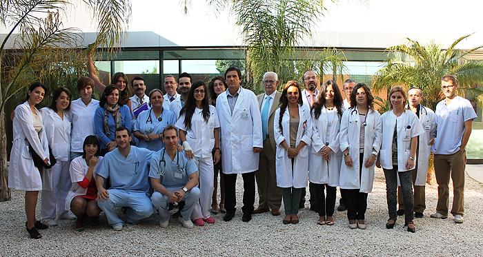 El hospital de torrevieja da la bienvenida a la cuarta for Oficina de empleo torrevieja