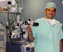Dr. José Isidro Belda, Jefe de Servicio Oftalmología