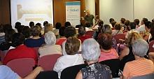 Imagen de una charla saludable en Guardamar