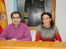 Albaladejo y Martínez Chazarra, ayer en rueda de prensa