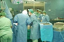 Realizando una artroscopia