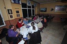 Imagen de la cena de la elección de los premiados