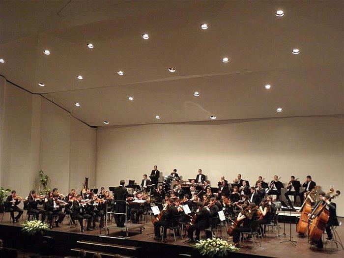 La Orquesta Sinfónica en el Concierto de Año Nuevo del Año 2012