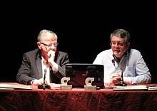 Manuel Tévar, Presidente de Ars Creatio y Antonio Sala Buades
