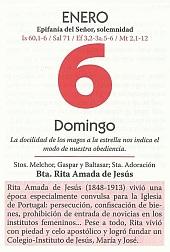 CALENDARIO 6 ENERO