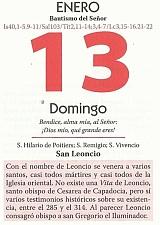 HOJA CALENDARIO 13 ENERO - copia