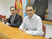 Francisco Moreno, ayer en rueda de prensa