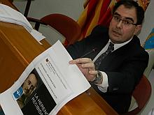 Albaladejo exhibe la foto de Franco colgada en Facebook