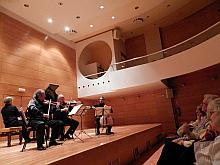 VÍDEO: Actuación cuarteto