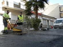 Asfaltado calle Caballero de Rodas (Archivo)