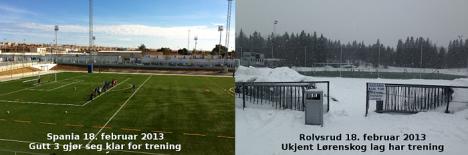 Curiosa imagen comparativa de las temperaturas y el clima entre Torrevieja y el lugar de origen de los equipos que han estrenado esta semana