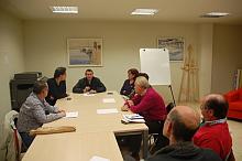Reunión de los miembros del C.A.C. de Torrevieja