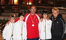 Equipo Infantil Masculino Campeón de la Comunidad