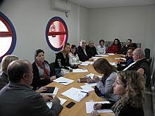 Reunión del concejal de Bienestar Social, con diversas asociaciones