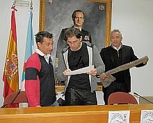 Ferrer, Pizana y Fos, en la presentación