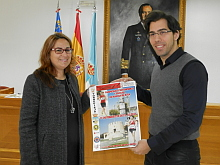 Pizana y Fosfos muestran el cartel anunciador