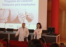 Presentación del Programa en el salón de actos