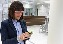 Enviando un SMS a un paciente
