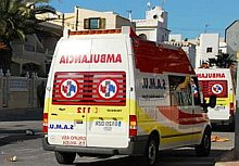 Ambulancia del Samu (Archivo)