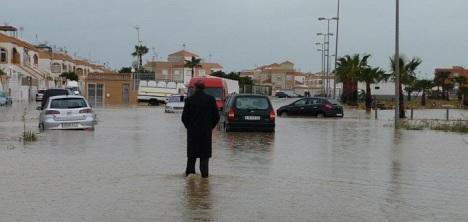 Hoy se cumple un año de las lluvias torrenciales que dejaron en Torrevieja 131 litros por metro cuadrado