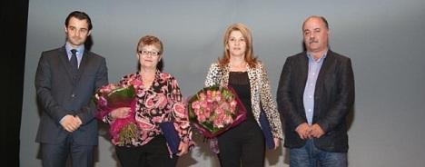 Momento entrega reconocimientos del Año 2012