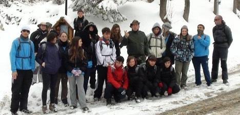 """IES Libertas en la expedición """"Tatra"""" en Polonia (Archivo)"""