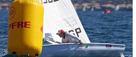 El campeón del mundo, Jesús Rogel en plena regata