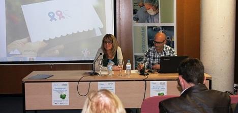 Imagen tomada durante una charla en Guardamar