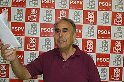 Domingo Pérez . PSOE