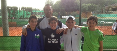 Equipo Alevín masculino C.T. Torrevieja
