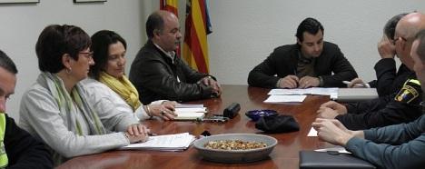 Reunión de todos los representantes de los organismos implicados en el convenio