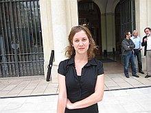 Marina Albiol, diputada de IU