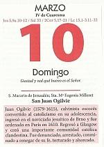 HOJAS CALENDARIO 10 marzo