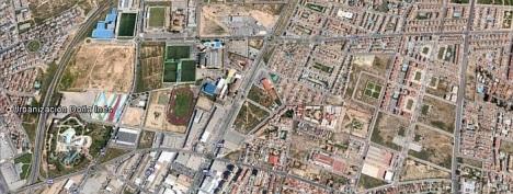 Zona dodne ¡se desarrollará la mayor parte de actividades del simulacro (Google map)