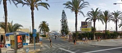 Entrada al puerto de Torrevieja, zona que será remodelada