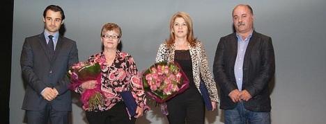 Mari Nieves Rebollo y Trinidad Martínez, galardonadas en el Día de la Mujer en 2012