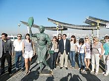 Un Fam Trip de visita en Torrevieja (Archivo)