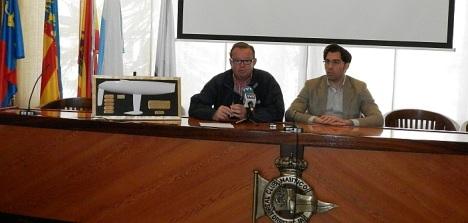 Germán Soler y Luis María Pizana ayer en rueda de prensa