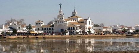 Aldea del Rocio en Almonte (Huelva)