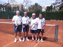 Equipo veteranos Club de Tenis Torrevieja