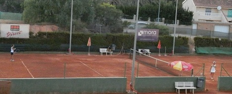 Pistas del Club de Tenis Torrevieja