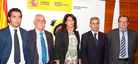 Participantes en el Convenio Turespaña