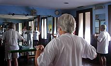 Sesión de gym para osteoporosis