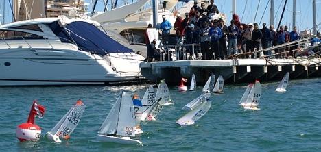 Momento de la competición (Foto. Dto. Prensa RCNT)