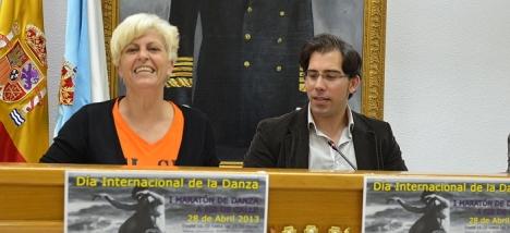 Luis María Pizana y Marisa Blanco, durante la rueda de prensa