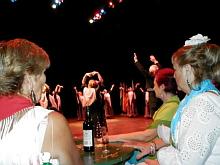 Coro Brisa del Sur, durante una actuación