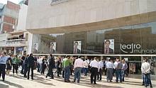 Acto electoral, celebrado en el Teatro Munciiapl el 19.Mayo.2011