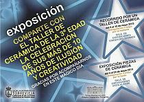 CARTEL EXPOSICIONES CERAMICA YAYOS