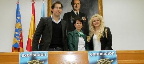 Pizana, Montesinos y Vaquero en la rueda de prensa de ayer